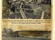 Stevenage Newspaper clippings 1953-55