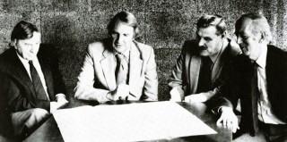 Leonard Vincent, Raymond Gorbing, Tom Carter, Owen Roberts | From the book First New Town by Jack Balchin