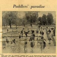 Paddler's Paradise | Stevenage Museum