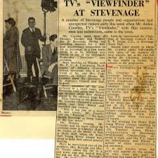 TV's 'Viewfinder' at Stevenage | Stevenage Museum