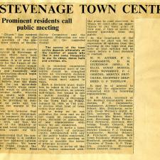 Town Centre | Stevenage Museum